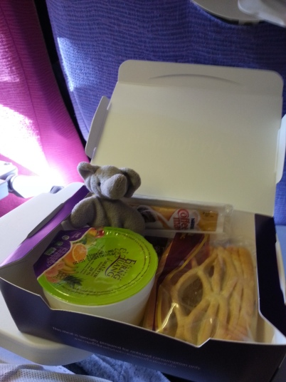 Meal onboard Thai Airway BKK to CNX