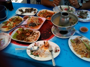 feast away! all these for 700baht!!!